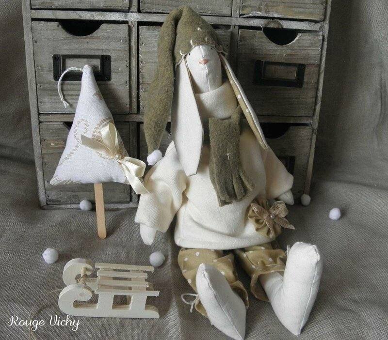 Lapin bonnet polaire blog