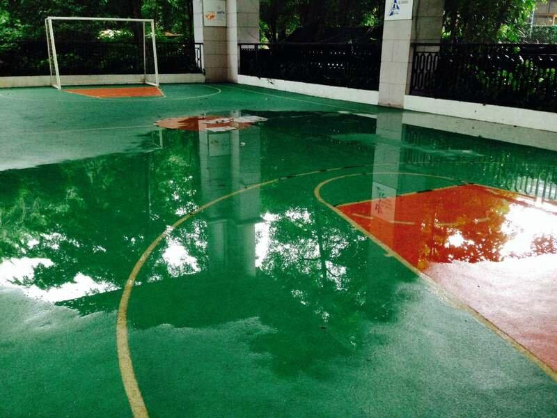 Inondation cour