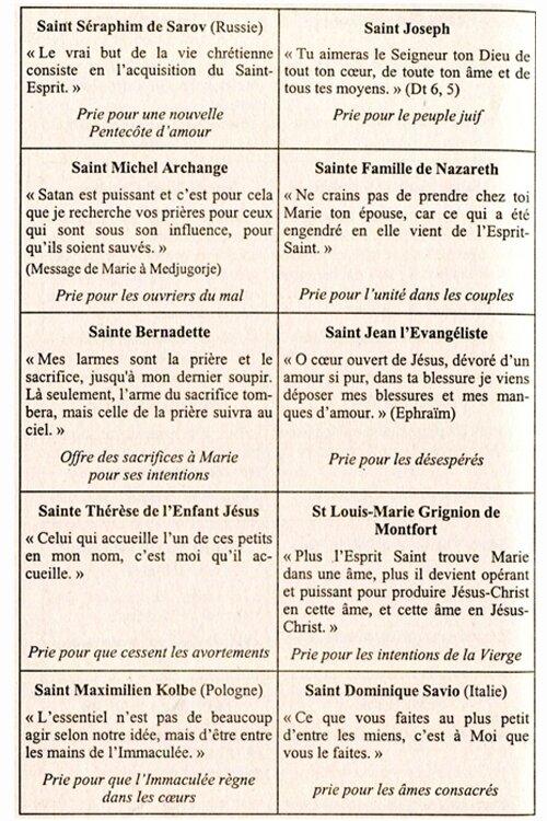 Saints et Saintes 3