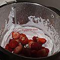 Glace a la fraise recette du blog familyblog