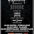 Garmonbozia presente: inquisition / revenge / corpus christii + the stone en france 19-20-22.sept.2011 !! :)