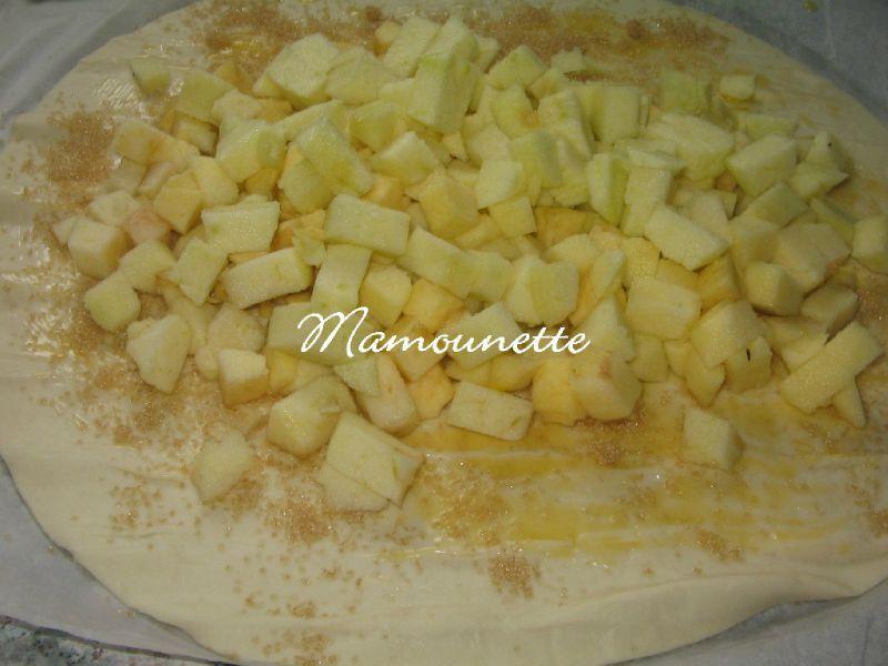 roul 233 aux pommes 224 la cassonade et cannelle bon ap chez mamounette
