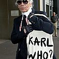 Karl lagerfeld: two new lines next year