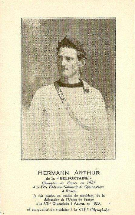 Arthur Hermann (JO 1920 & 1924)