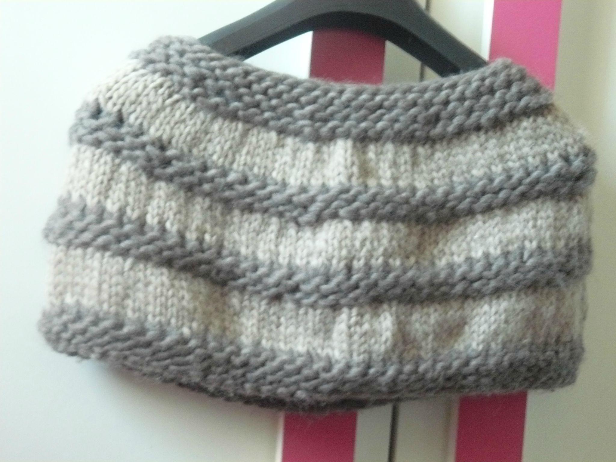 comment faire un chauffe epaule en tricot