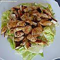 Caesar salad (salade césar)
