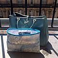 Un retour en douceur... avec un organiseur de sac tout simple...
