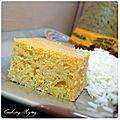 Buffalo's corn bread (pain de maïs)