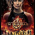 Catching Fire poster espagnol