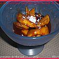poêlée de pommes caramel beurre salé et cannelle