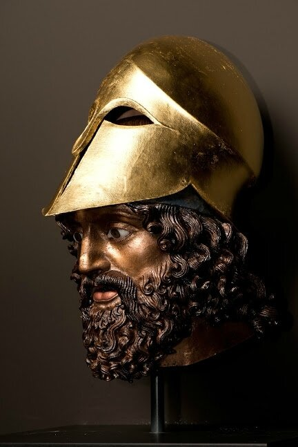 Reconstruction of the Riace Warrior A
