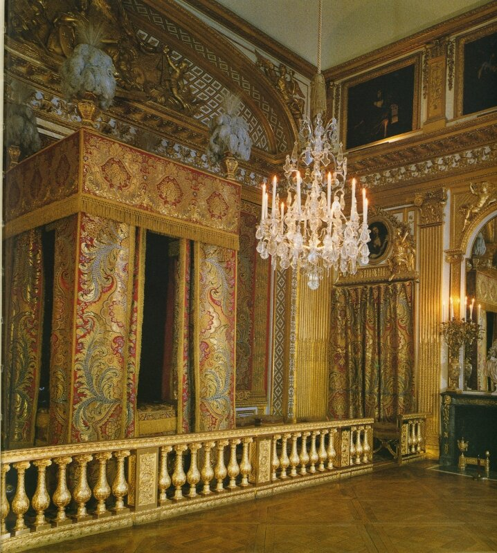 chambre de louis xiv p photo de versailles documents