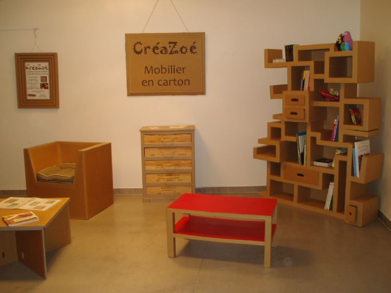 octobre 2011 tous les messages mobilier en carton et. Black Bedroom Furniture Sets. Home Design Ideas