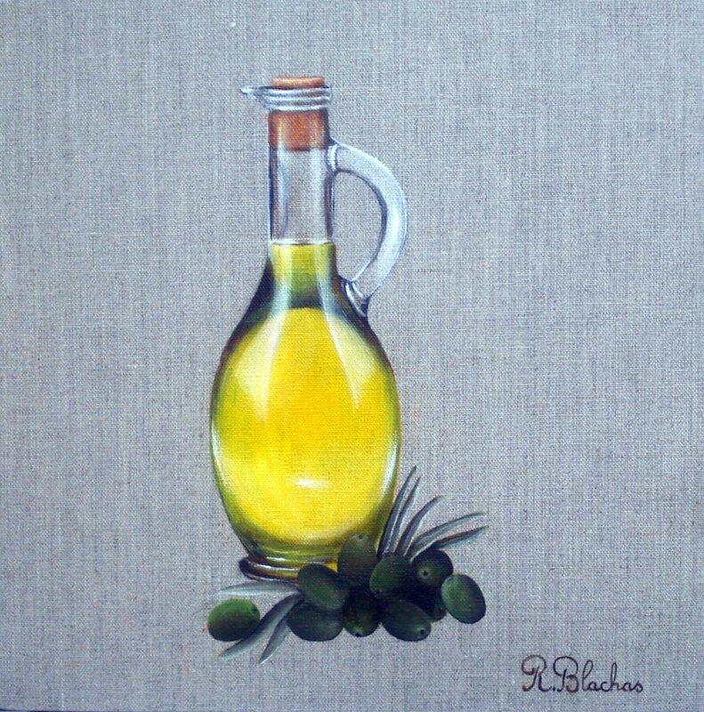 Peintures sur lin couleurs et lin rosine blachas - Peinture sur lin ...