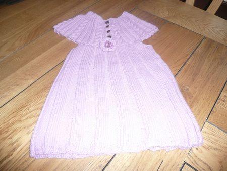 robe tricot pr ily 5 ans