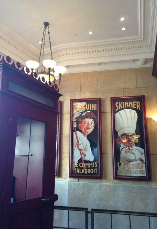 Disneyland Paris - attraction Ratatouille-Linguini