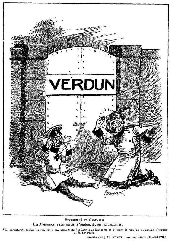 Dessins de guerre Verdun39