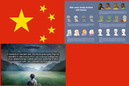 Chine - Aliens et Ovni
