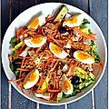 Salade colorée et croquante pour vos déjeuners solo
