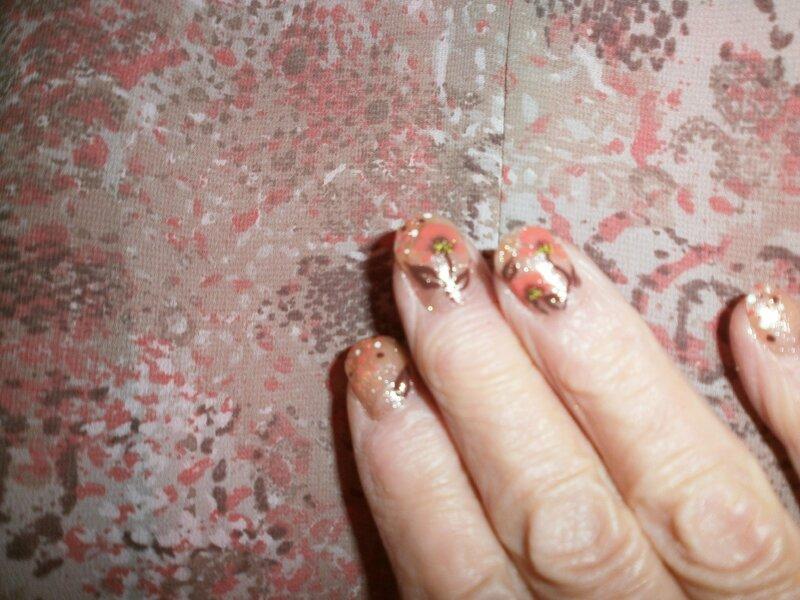 Nail-art fait par Adèle (4)