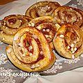 Kanelbullar ( pains suédois à la cannelle)