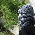 Sakado : bonnet et snood