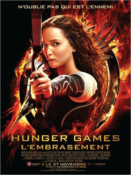 the hunger game, l'embrasement