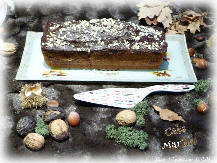 """ღ """" Miam """" Cake marbré"""