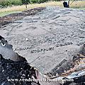 Vandalisme sur le champ de bataille de cholet