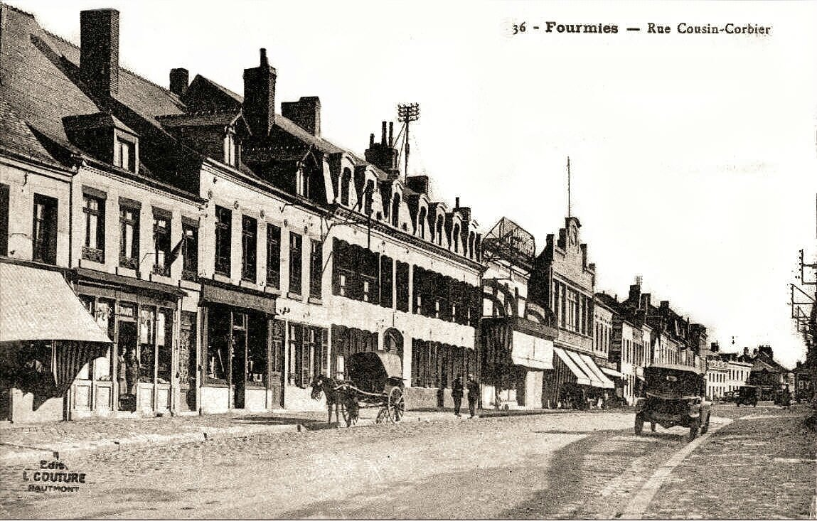 FOURMIES-Rue Cousin Corbier