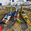 P1040216 - Amorgos: fin du trip, on vide les kayaks -