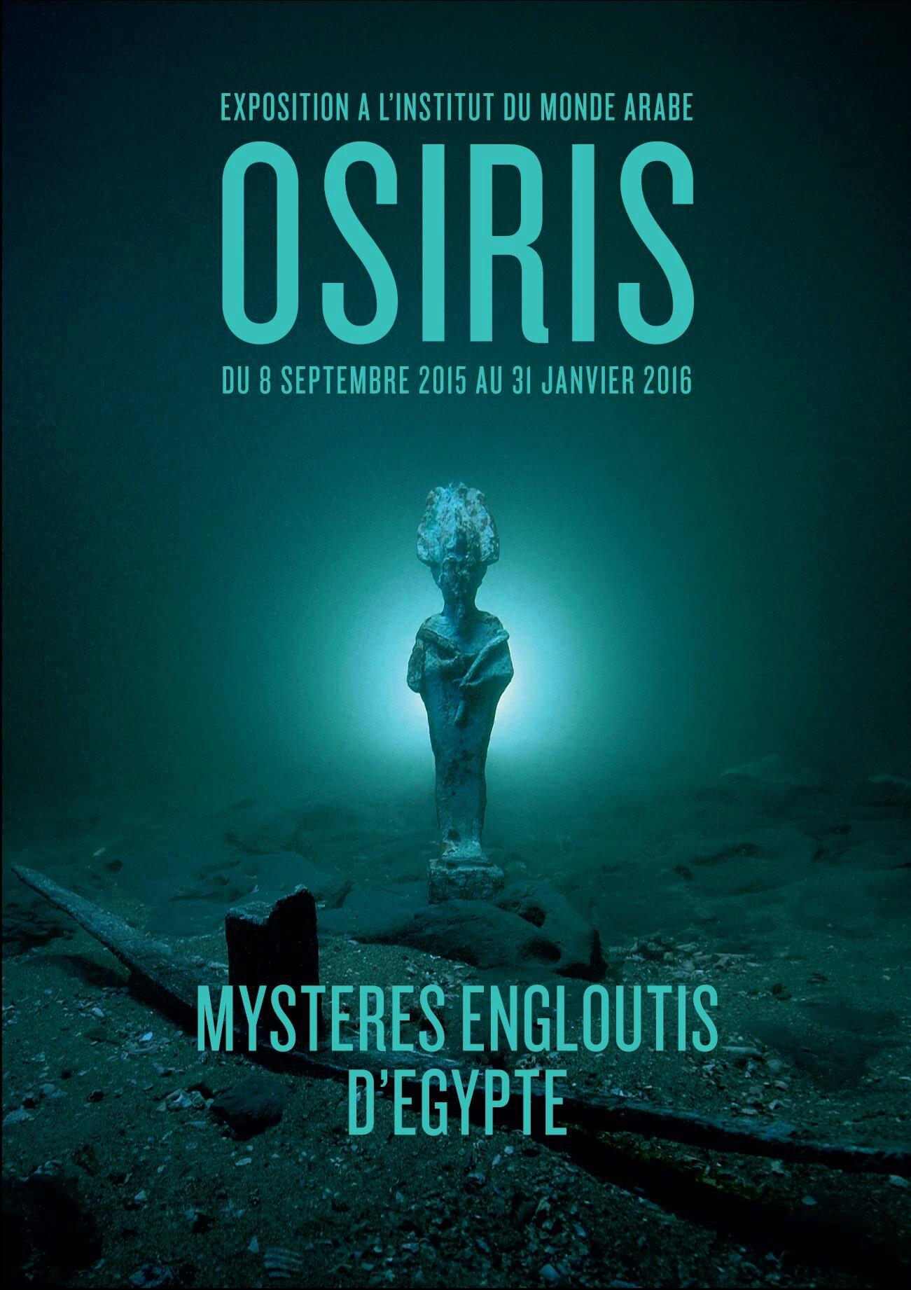OSIRIS, les mystères engloutis d'Egypte à l'Institut du Monde Arabe