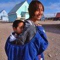 Nunavut -Taloyoak la promenade