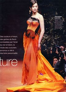 orange christian lacroix