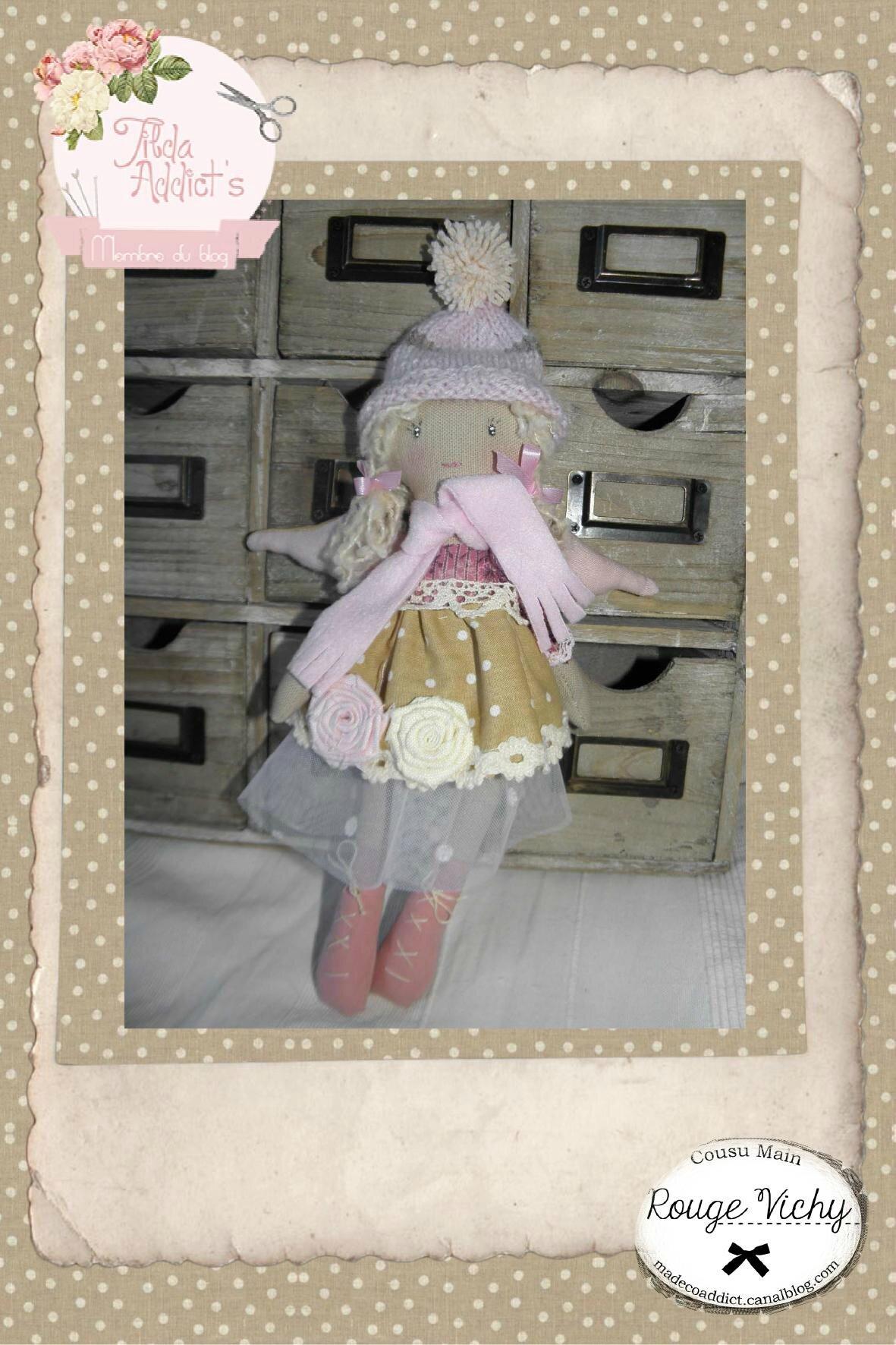 Poupée ange style Tilda