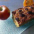 Cake au potimarron, pommes et cannelle (sans gluten, produit laitier, sucre et matière grasse)