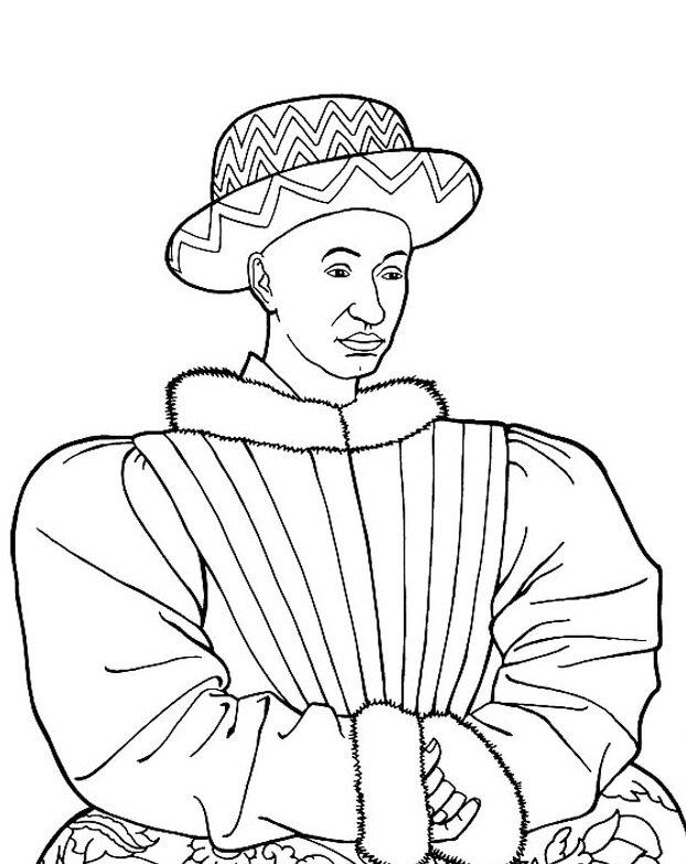 Charles VII n&b