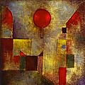 Abstrait 1922_Ballon rouge_Klee