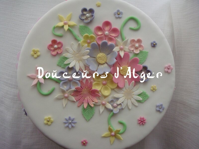 gâteau fleuri 1