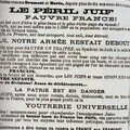 Ordonnance survenue dans un journal lors de l'affaire Dreyfus