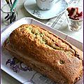 Cake rhubarbe