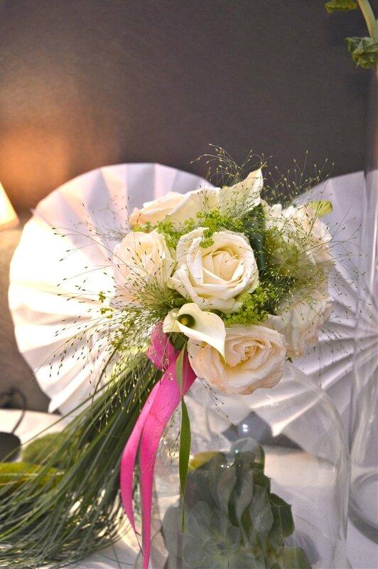 bouquet de marie ton rose vert autrement. Black Bedroom Furniture Sets. Home Design Ideas