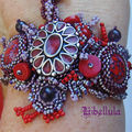 Bracelet hot purple