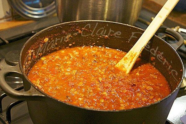 Ma sauce bolognaise mijotée pendant 7 heures : vous m'en direz des nouvelles