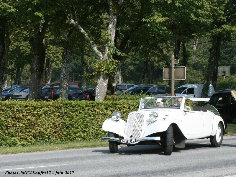 Photos JMP © Koufra12 - Traction avant 80 ans - 00020