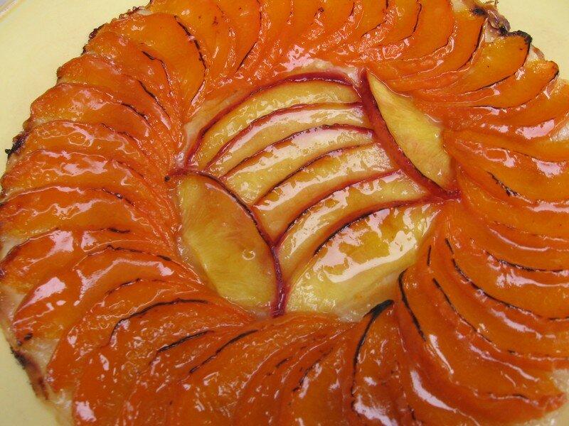 tartelettes abricots nectarines la p te filo thym et. Black Bedroom Furniture Sets. Home Design Ideas