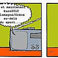 Georges et l'euro 2012 se prend la dette pour allemagne/grèce