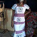faso dan fani - une robe en pagne tissé