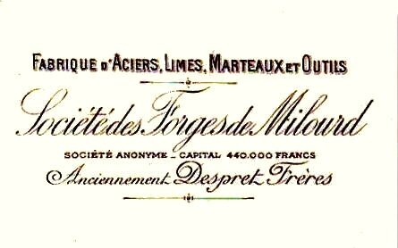 ANOR-Forge Milourd 1908