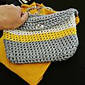 Yellow ribbon bag